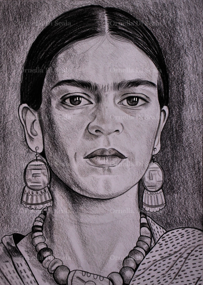 Frida Kahlo by velvetdressx